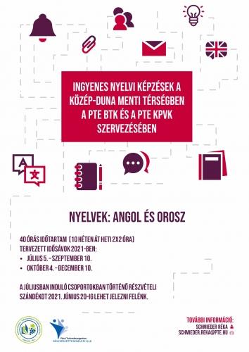 KPVK-BTK_angol-orosz_tanfolyam_flyer_202106