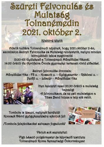 Szüreti plakát 2021